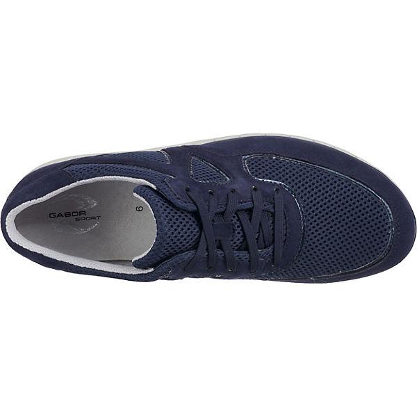 Low Blau Gabor Sneakers Gabor Sneakers zqnztIBxw6