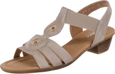 Gabor, Klassische Sandaletten, beige