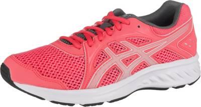 Asics Damen Jolt 2 Turnschuhe Laufschuhe Sneaker Blau Rosa Sport Atmungsaktiv