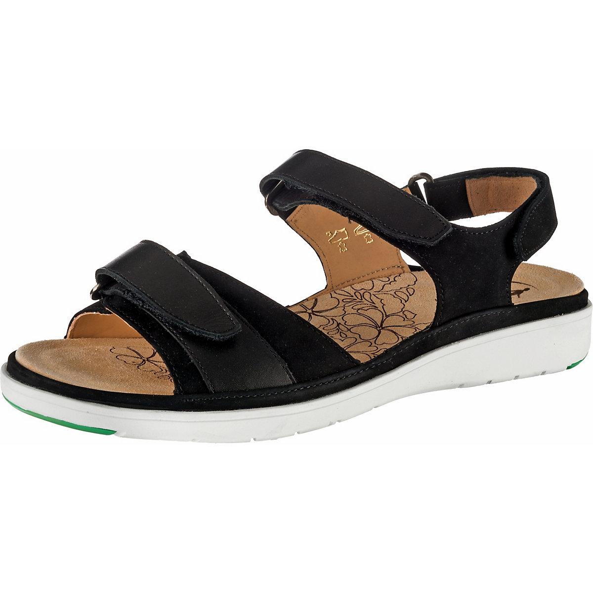 Ganter, GINA Klassische Sandalen, schwarz  Gute Qualität beliebte Schuhe
