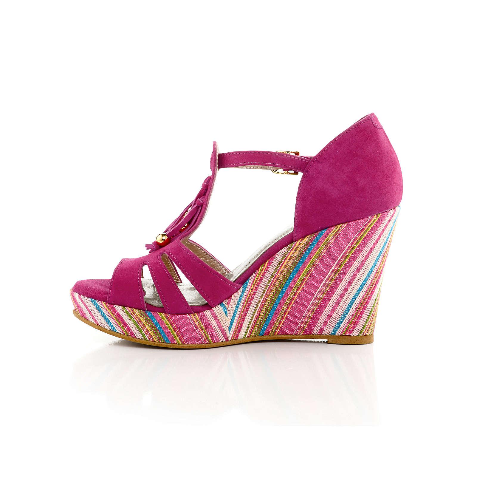 Alba Moda Sandalette mehrfarbig Damen Gr. 39