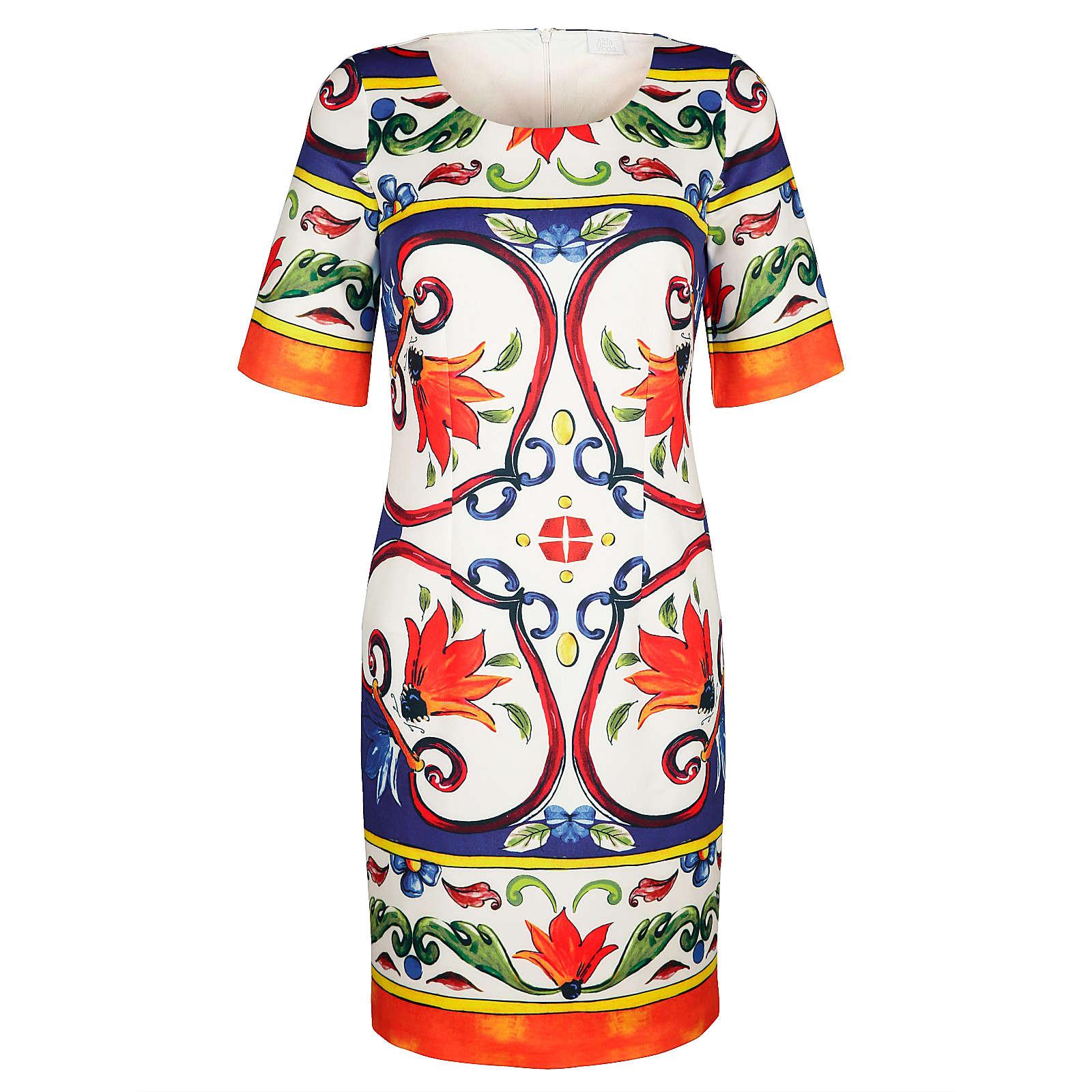 Alba Moda Kleid weiß Damen Gr. 40