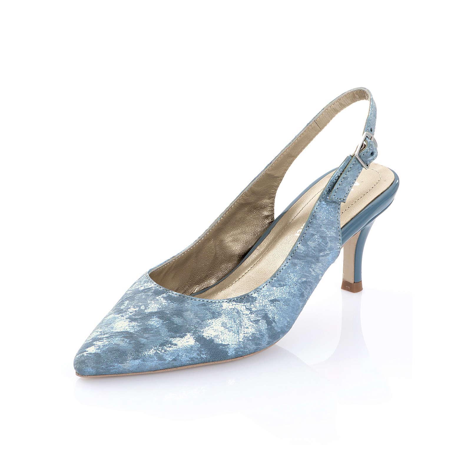 Alba Moda Slingpumps blau Damen Gr. 39