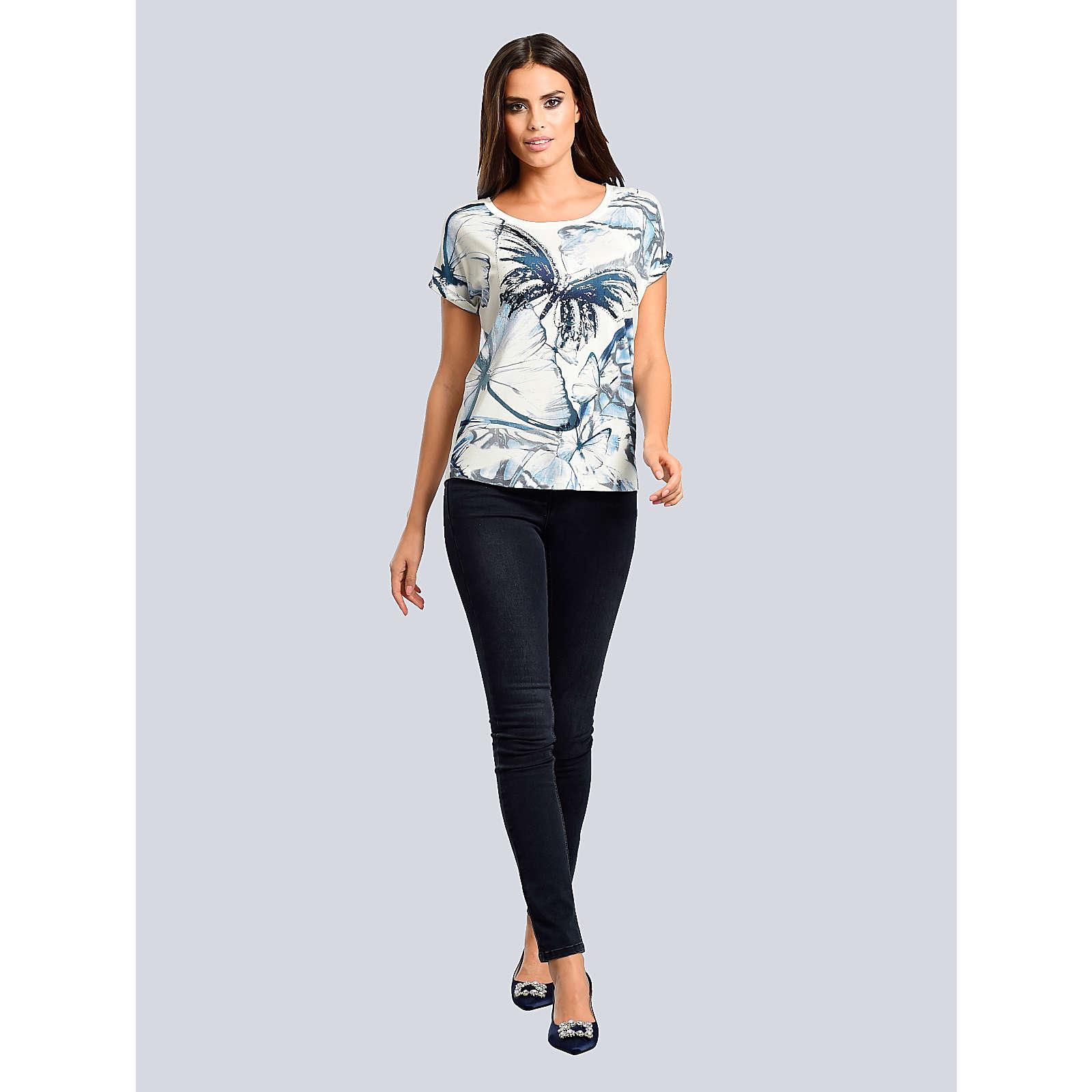 Alba Moda Shirt weiß Damen Gr. 44