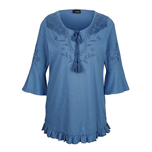 Shirt Miamoda Shirt Shirt Miamoda Miamoda Blau Miamoda Shirt Blau Blau QrthCxsdB