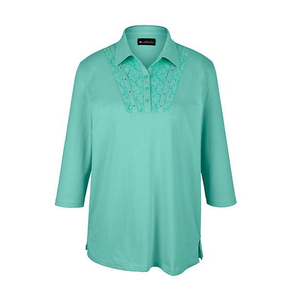 cheaper e8807 b98c7 m. collection, Poloshirt, grün