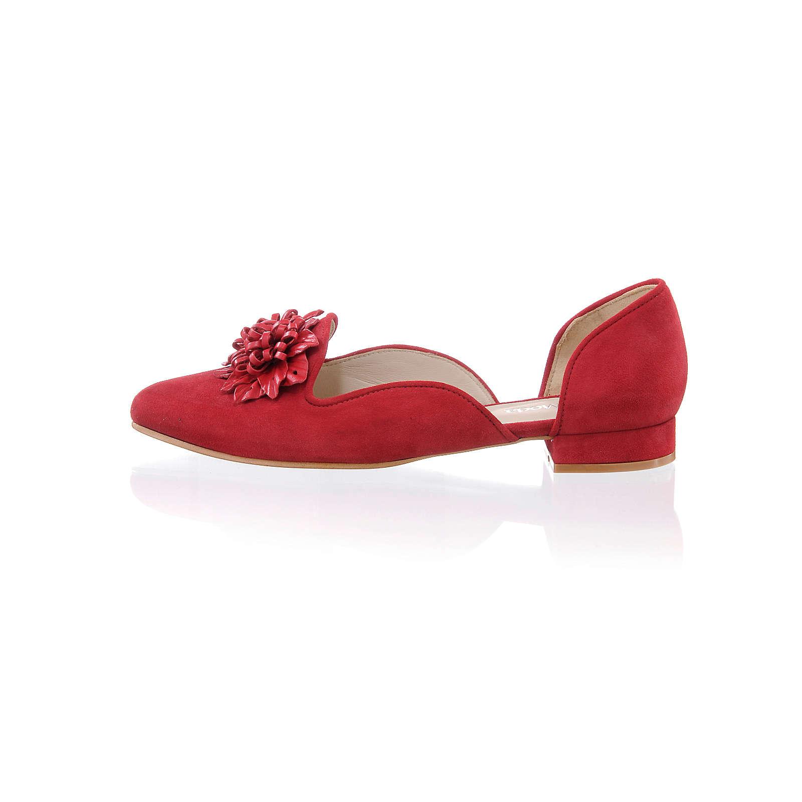 Alba Moda Ballerina rot Damen Gr. 40