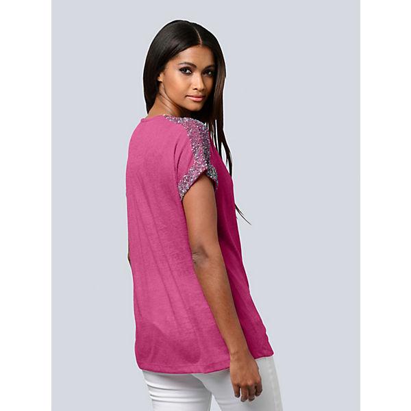 Alba Pink Pink Shirt Alba Moda Shirt Shirt Alba Pink Moda Alba Moda xodCBe