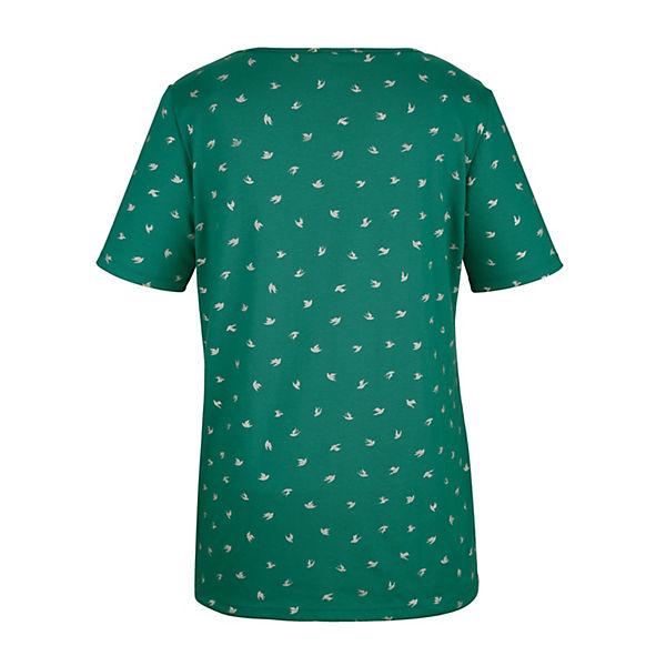 Shirt Grün Shirt Miamoda Grün Shirt Miamoda Miamoda Ajq35RL4