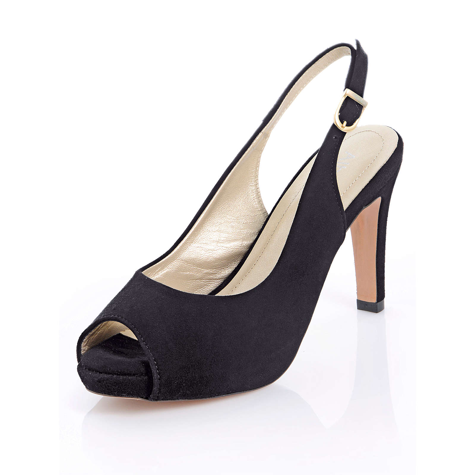 Alba Moda Sandalette schwarz Damen Gr. 40