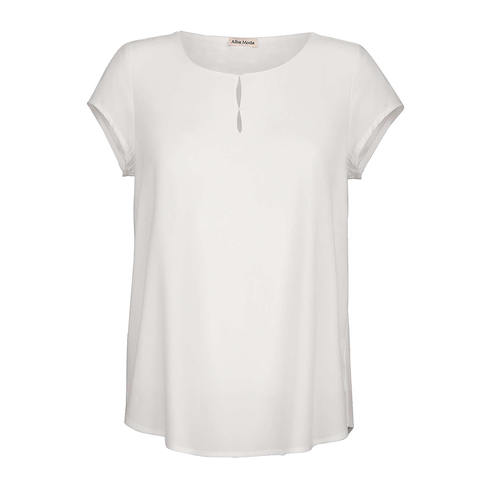 Alba Moda Bluse weiß Damen Gr. 36