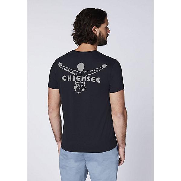 Chiemsee Schwarz T Mit Rundhalsausschnitt kombi shirt e9YIWDE2H