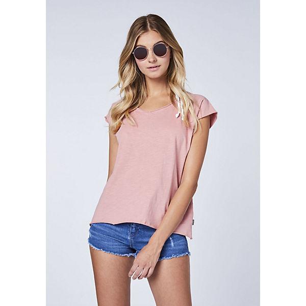Großem RückenprintGots Chiemsee Jumper shirt Rosa Zertifiziert T Mit bvf76Ygy
