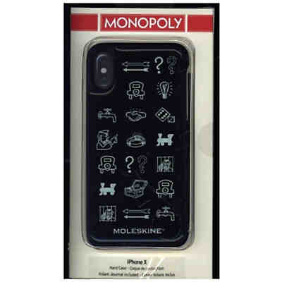 Moleskine Monopoly Limited Edition Iphone 10 Case Hard