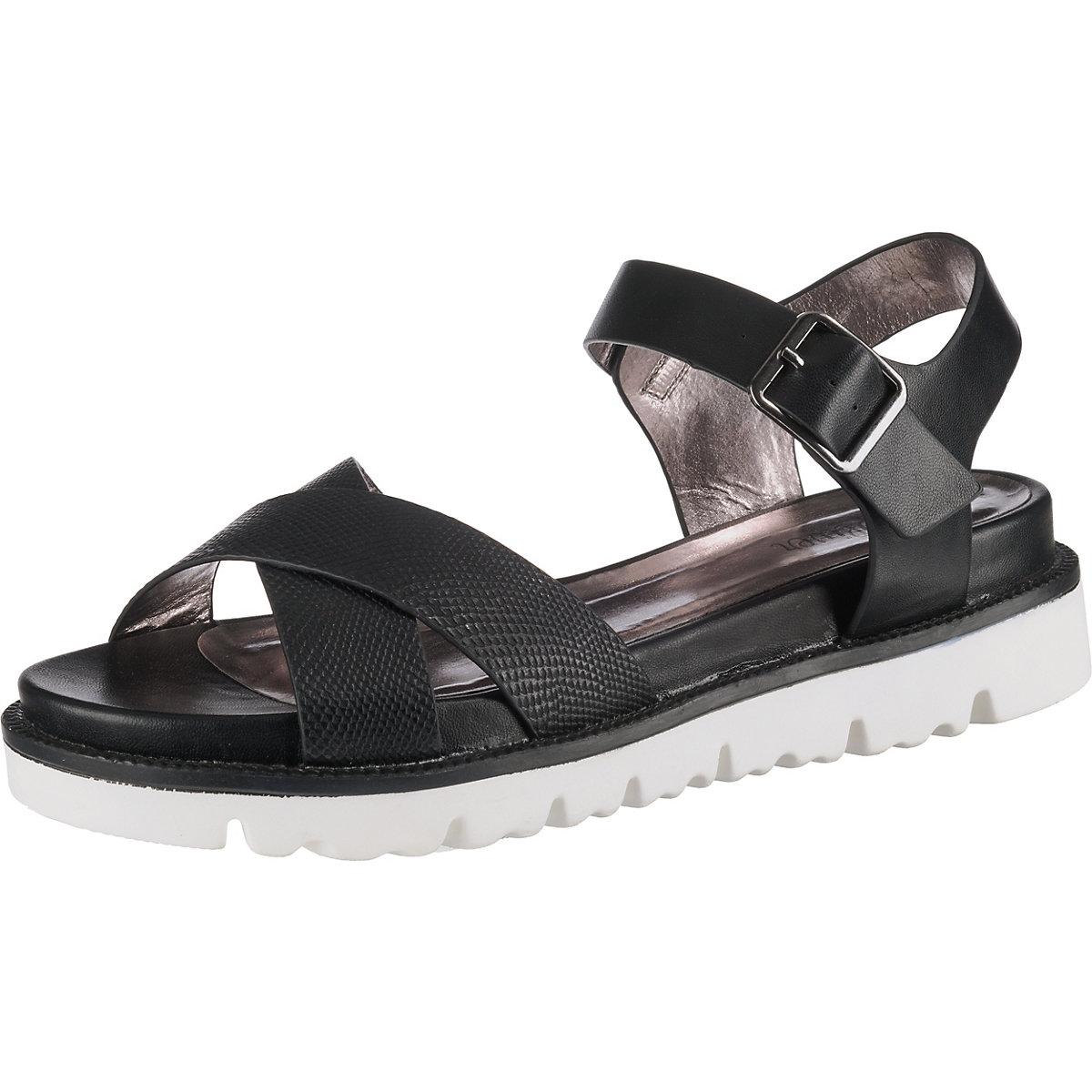 S.Oliver, Klassische Sandalen, schwarz  Gute Qualität beliebte Schuhe