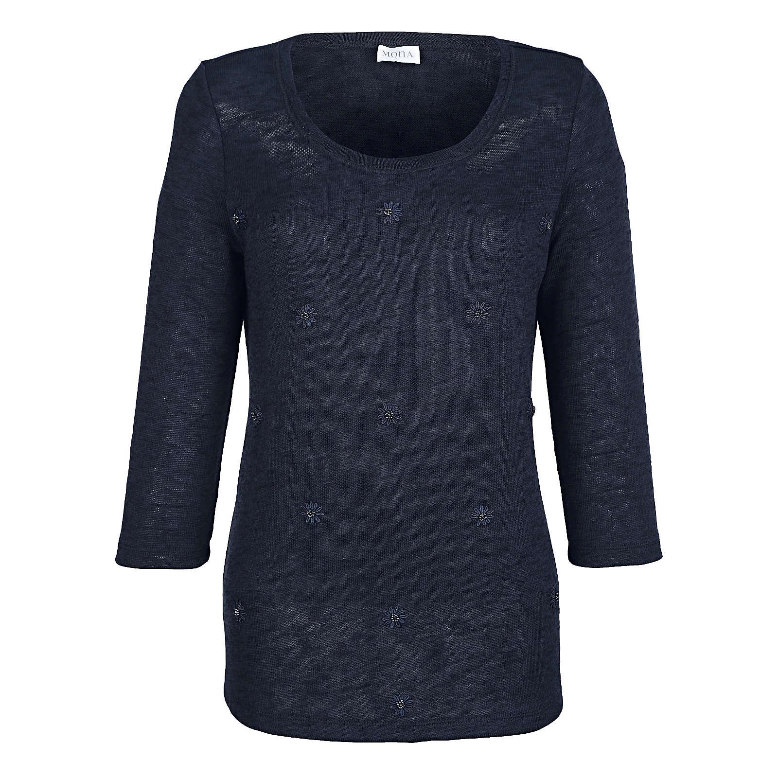 info for c87e6 12f95 ❤ MONA Pullover dunkelblau Damen Gr. 46 - Bekleidung ...