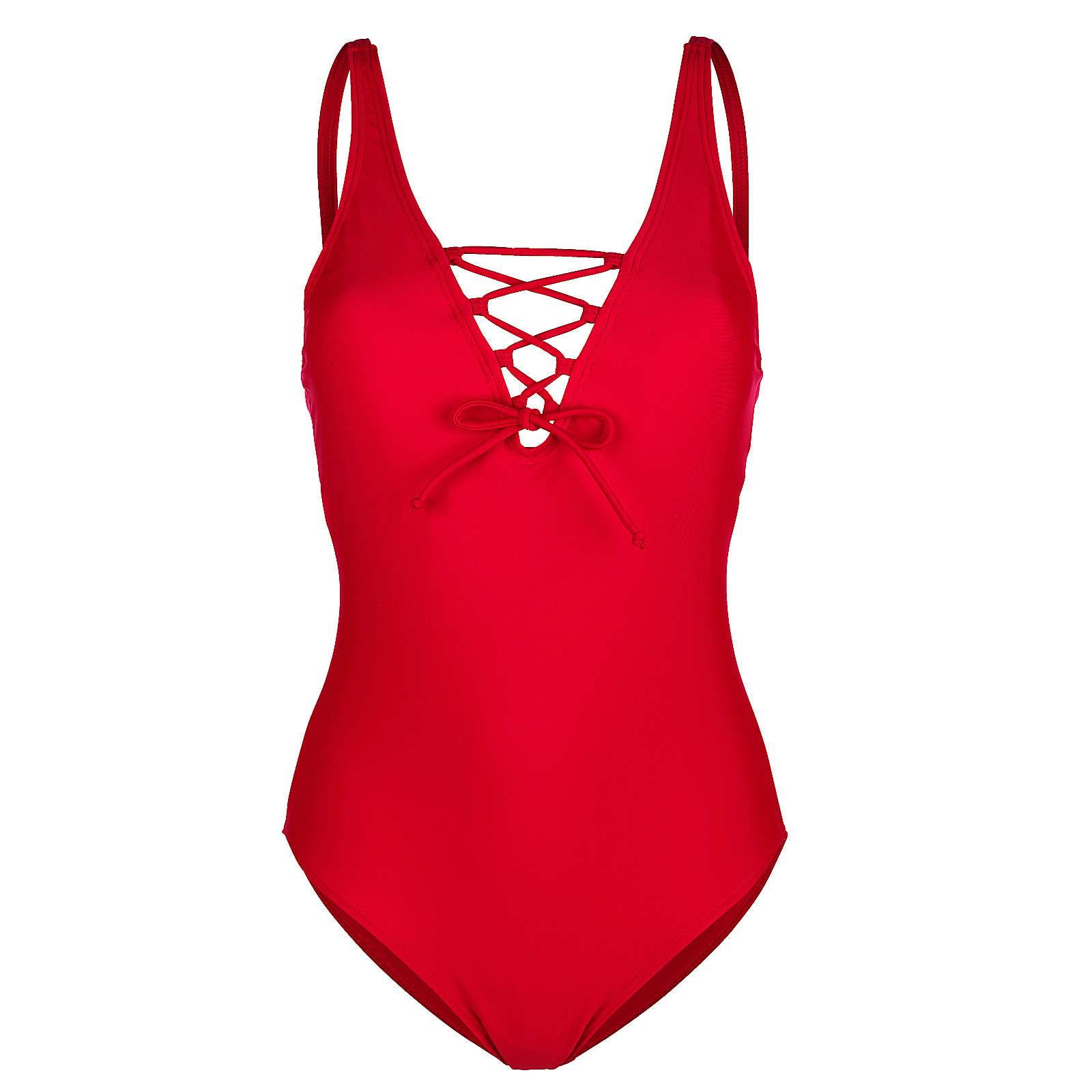 Maritim Badeanzug rot Damen Gr. 48