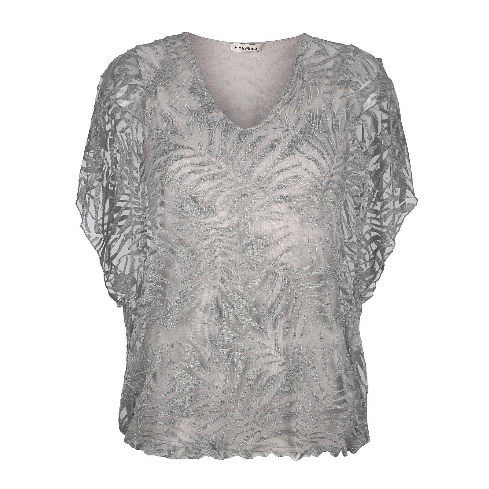 Alba Moda Shirt grau Damen Gr. 34