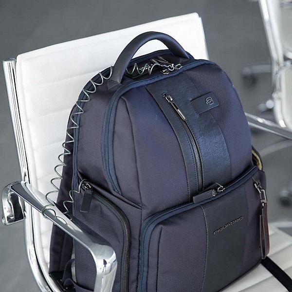 Brief Ipad 7 DiebstahlsicherungUsb Air Piquadro blocker und 42 Rucksack 9 Laptop Fach AnschlussRfid Cm Braun Pro nvNm80w