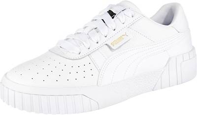 PUMA, Cali Wn's Sneakers Low, weiß