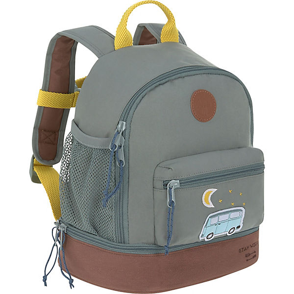 Kindergarten-Rucksack 4Kids, Mini Backpack, Adventure Bus, blue