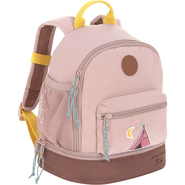 Kindergarten-Rucksack 4Kids, Mini Backpack, Adventure Tipi, pink