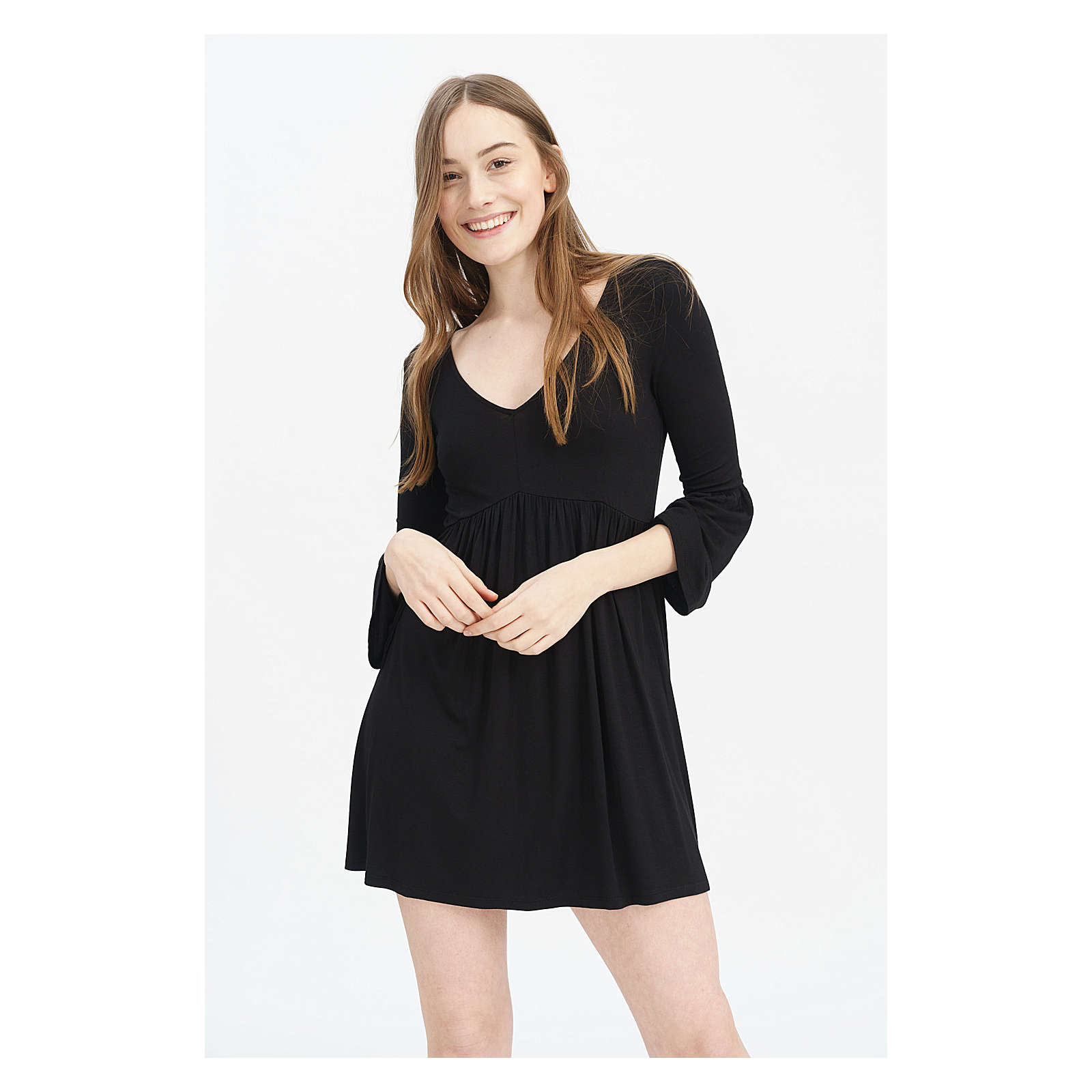 trueprodigy® trueprodigy Freizeitkleid Kleider schwarz Damen Gr. 42