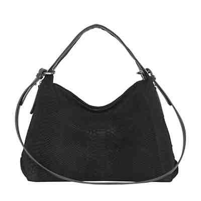 81ecd6396001d POON Switzerland Lederhandtasche mit Anakonda Prägung Handtaschen ...