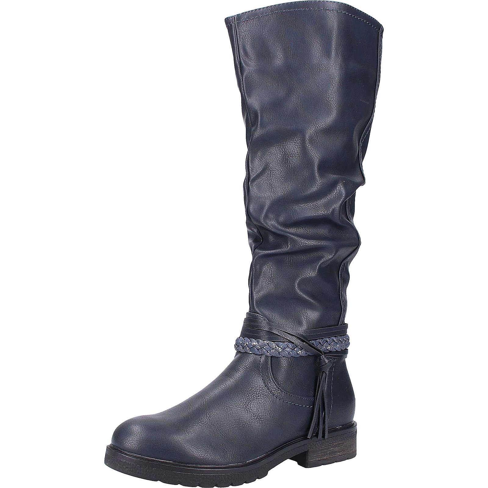 Stiefel Klassische Stiefel dunkelblau Damen Gr. 38