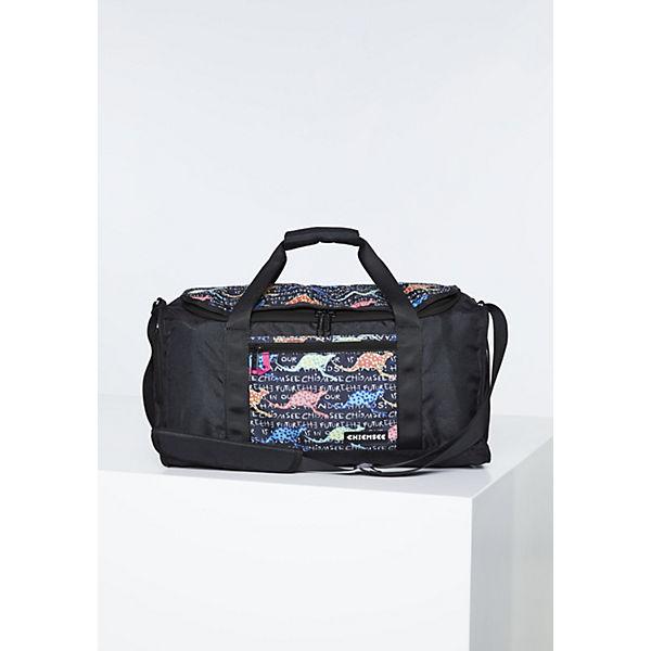 Mustern Sporttasche In Chiemsee Coolen Farben Schwarz pink Und wPkn0O