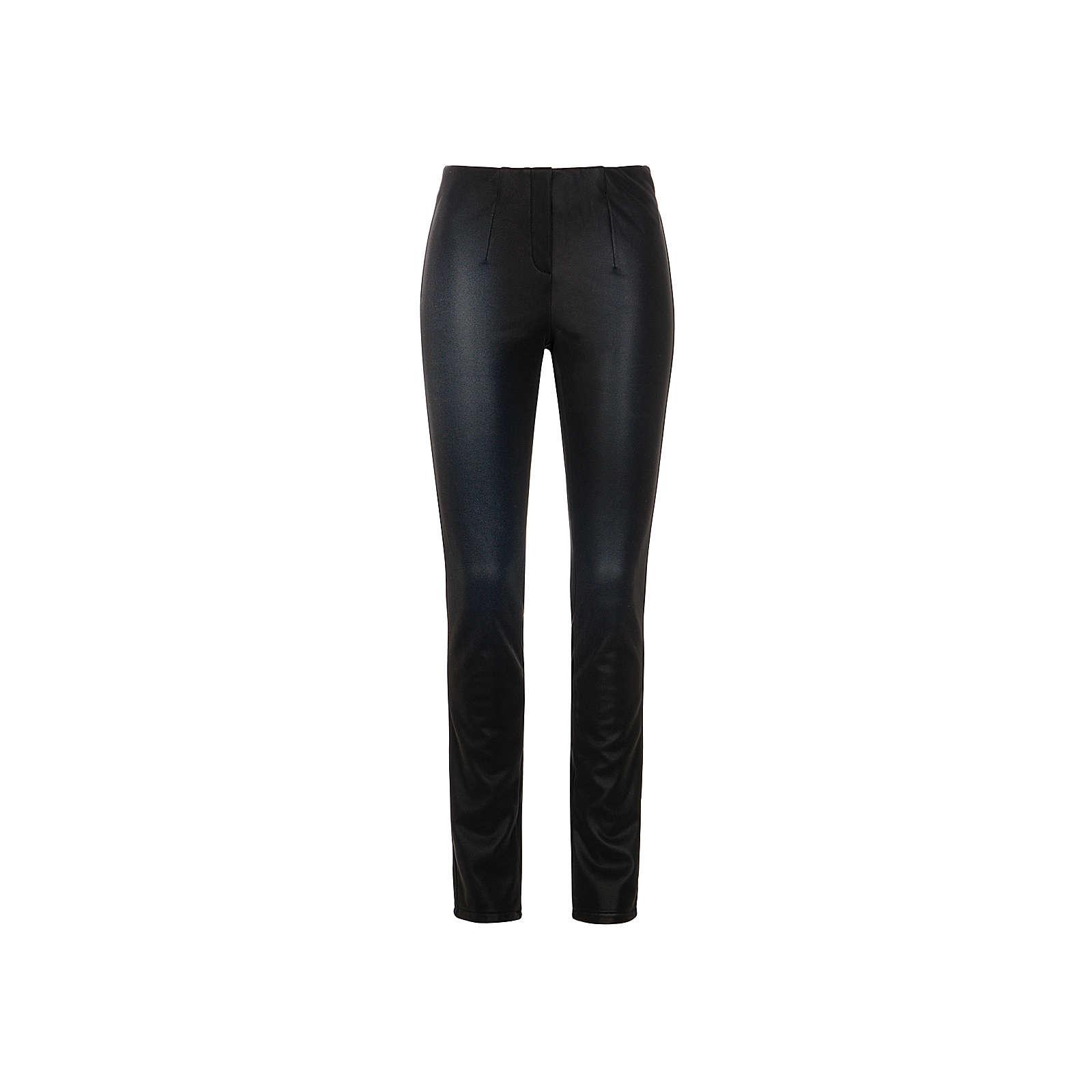 Million X Women Damen Hose Happy Fit Leather Like Jeggings schwarz Damen Gr. 42/L30