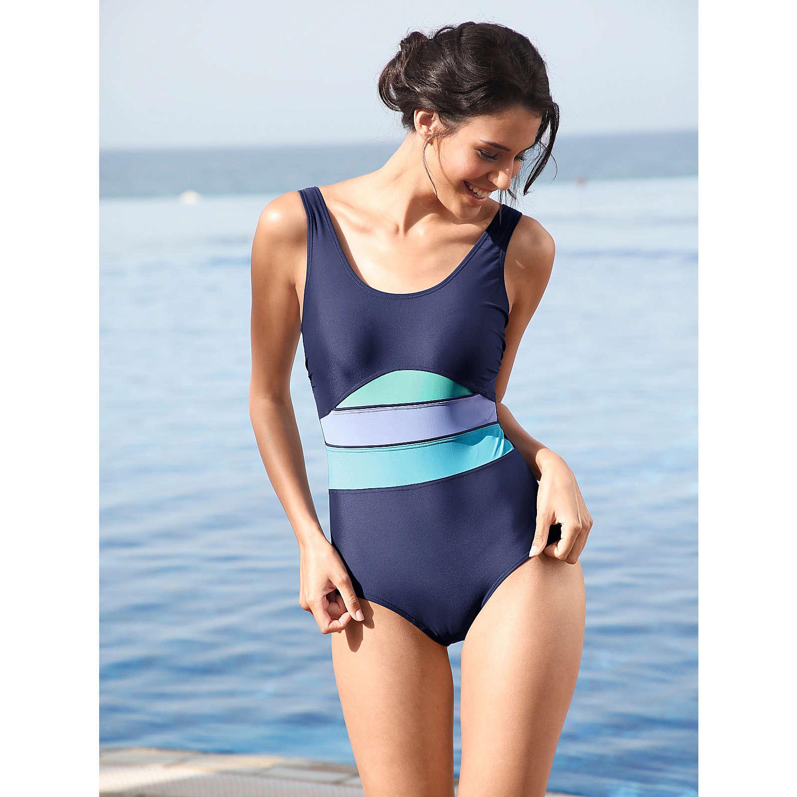 Maritim Badeanzug dunkelblau Damen Gr. 40