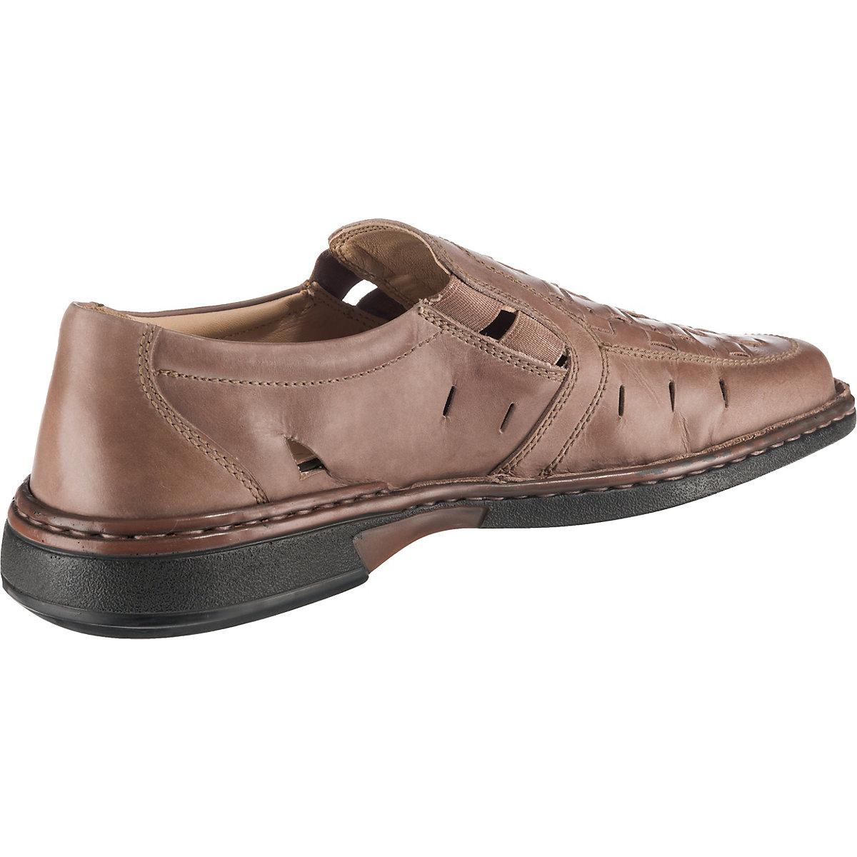 Stoneford, Komfort-slipper, Braun-kombi