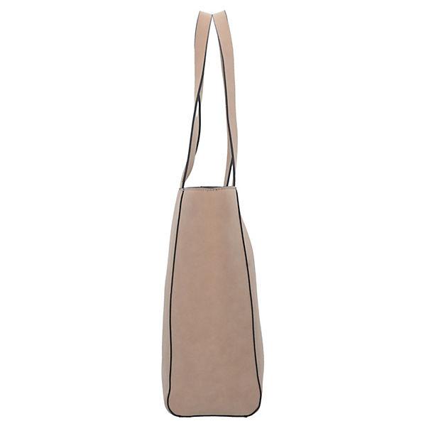 Tasche 27 Cm Shopper Beige Esprit Lauren gY76yIvbf