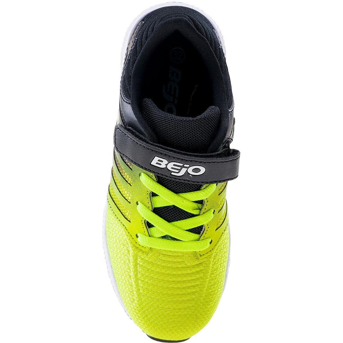 Bejo, Kinder Sportschuhe Carti, Schwarz/gelb