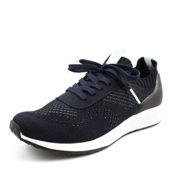Low Mirapodo Dunkelblau Sneakers Fashletics Tamaris EHwS8qz