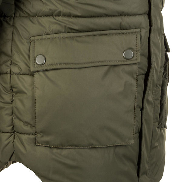 Faux Winterjacke Classics Fur Hooded Herren Urban Grün kP0Ow8nX