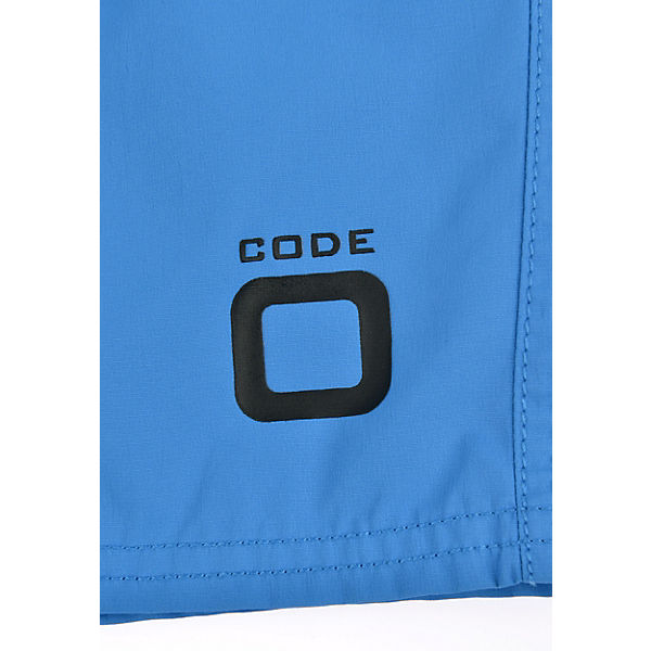 Code Badeshorts zero Duo Blau Voile XuPiZOk