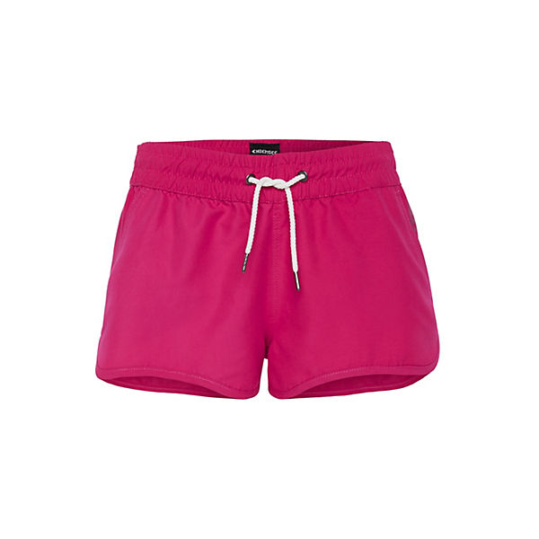 Badeshorts Einfarbig Kordelzug Pink Chiemsee Mit T1lKJcF3