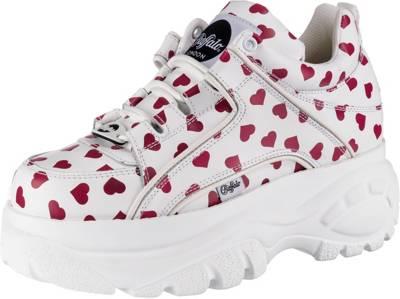 Buffalo Kombi Classics LondonPlateau Sneakers LowWeiß uFJc3Kl1T