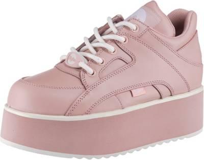 Buffalo London, Rising Towers Sneakers Low, rosa