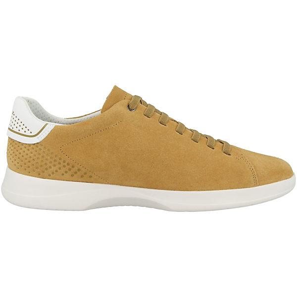 U Kennet Low Geox B Sneakers Schuhe Gelb fgyYb67v