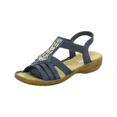 rieker, Timisoara Klassische Sandaletten, grau   mirapodo