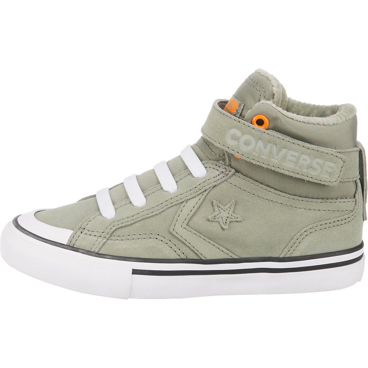 Converse, Sneakers High Pro Blaze Strap Hi Für Jungen, Grün