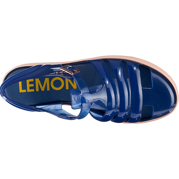 sandalen Jelly Lemon Blau kombi T Crystal steg I0xUAv