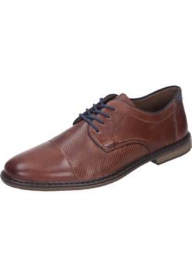 rieker Herren Schnürschuhe Schwarz Schuhe, Größe:42