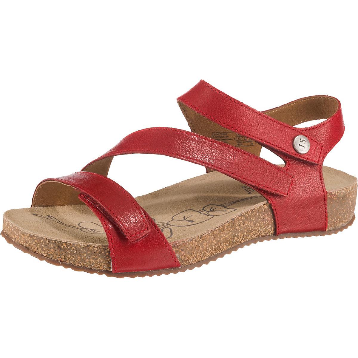 Josef Seibel, Tonga 25 Komfort-Sandalen, rot  Gute Qualität beliebte Schuhe