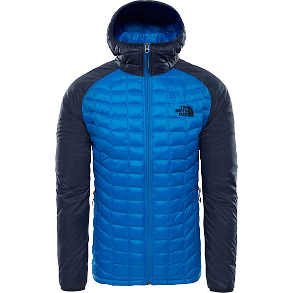 North Steppjacke Face Brusttasche Eingelassener Kj20374 Outdoorjacken Mit Blau The w0PknO