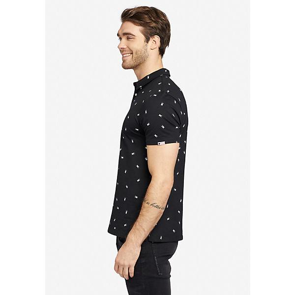 shirt T kombi Jikel Poloshirts Schwarz Khujo EDH2W9YI