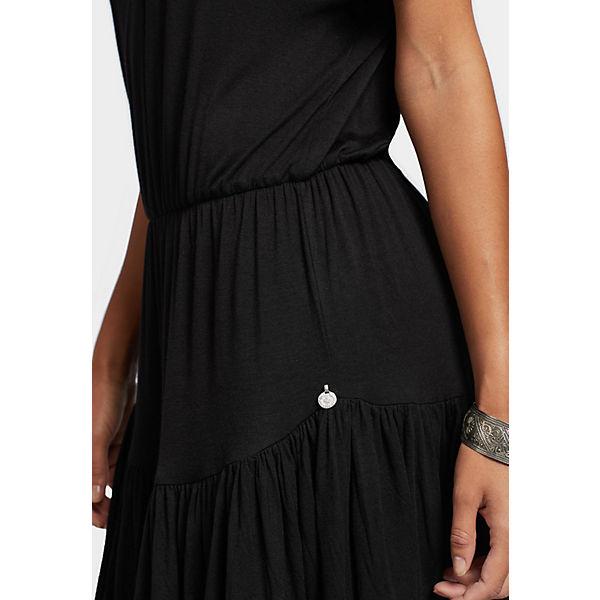 Khujo Jerseykleider Pendara Schwarz Khujo Kleid Schwarz Kleid Pendara Jerseykleider kZiOuPX